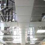 Какими бывают подвесные потолки металлические?