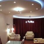 Стоимость потолка из гипсокартона