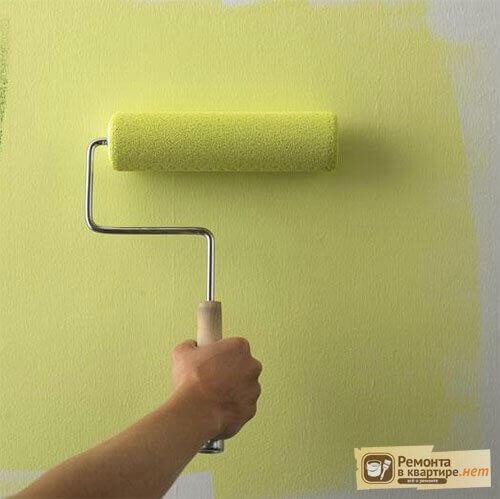 Можно покрасить водоэмульсионной краской обои 18