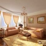 Перестановка мебели в комнате