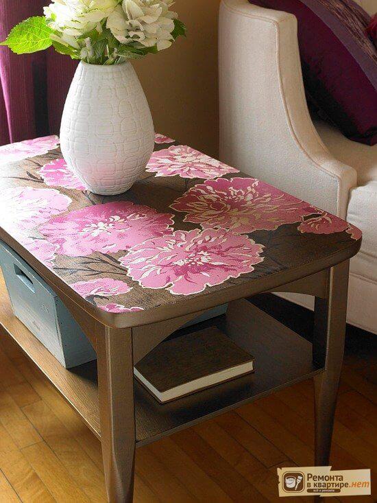 Декорирование мебели своими руками - техника и идеи