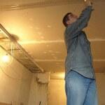 Шпаклевание потолка из гипсокартона
