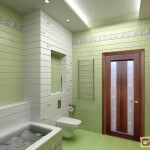 Установка дверей в ванной