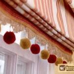 Пошив римских штор: пошаговая инструкция