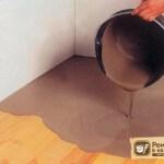 Стяжка на деревянный пол: необходимые материалы и технология заливки