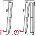 Установка дверей шкафа-купе: пошаговая инструкция