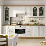 Белая мебель для кухни: секреты дизайна