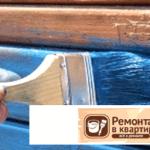 Покраска деревянных стен. Разновидности лакокрасочных материалов. Процесс покраски
