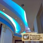 Гипсокартонные потолки с подсветкой – монтируем правильно