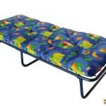 Кровать раскладушка с матрасом: советы по выбору