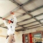Монтаж гипсокартонных потолков: последовательность работ