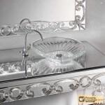 Стеклянная мебель для ванных комнат: особенности, разновидности