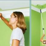 Покраска гипсокартонного потолка: выбор краски, поэтапный процесс
