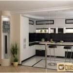 Кухня студия с барной стойкой: её особенности