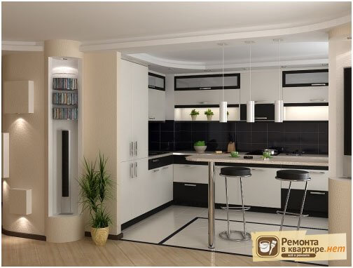 кухня студия с барной стойкой барная стойка в кухне барные стулья