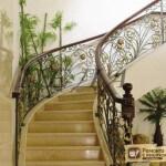 Поворотные лестницы: её виды, проектирование