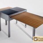 Дизайн кухонных столов: выбираем подходящую форму