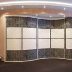 Полукруглые шкафы купе: их особенности, преимущества, фото