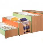 3-х ярусная кровать – её разновидности, советы по выбору