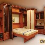 Встроенная откидная кровать: её разновидности, советы по обустройству
