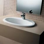 Врезная раковина для ванной: её особенности