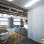 Интерьеры квартир в стиле лофт: особенности, материалы, мебель