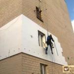 Утепление стен квартиры снаружи: минеральная вата, пенопласт