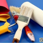 Способы покраски стен: кисточкой, валиком, пульверизатором, декоративная покраска