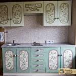 Декупаж кухонной мебели: поэтапный процесс