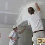 Шпаклевка гипсокартонного потолка — выбор материала, последовательность работ