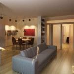 Зонирование мебелью: варианты расстановки, полезные советы