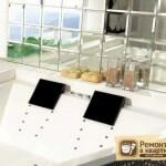 Зеркальная плитка в ванную: её особенности, разновидности