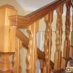 Крепление балясин деревянных лестниц