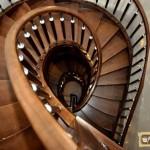 Диаметр винтовой лестницы