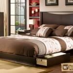 Двуспальная кровать подиум. Её преимущества, роль в интерьере
