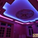 Как сделать светодиодную подсветку потолка?