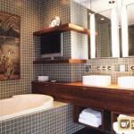 Мебель для маленькой ванны – подбираем с умом
