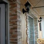 Отделка балконов камнем. Выбор камня, процесс отделки