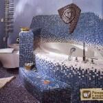 Плитка мозаика на стену – советы по выбору и монтажу