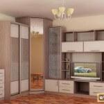 Модульные угловые гостиные стенки. Их преимущества в интерьере