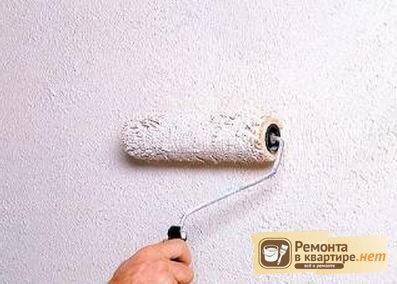 краска для стен с песком фото
