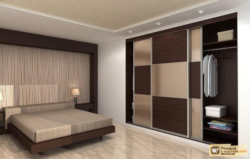 Стильный дизайн для шкафов-купе