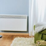 Настенный электрический радиатор отопления