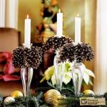 Украшение квартиры на новый год. Часть 2 – украшение спальни и прихожей