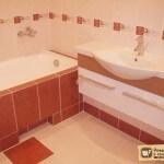 Экран под ванну из плитки: выбор материалов, монтаж