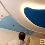 Покраска потолков из гипсокартона. Часть 2 – технология покраски