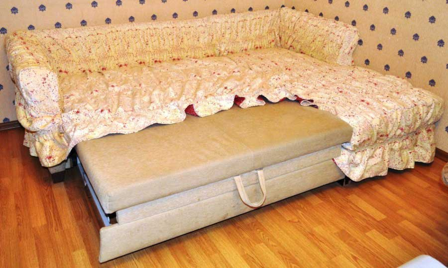 Покрывало для углового дивана сшить 8