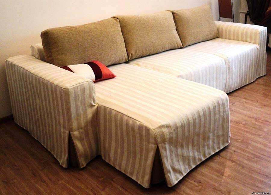Как своими руками сшить чехлы на диван