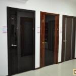 Двери с черным стеклом. Дизайнерские решения, варианты стекол