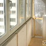 Чем лучше утеплить балкон изнутри?